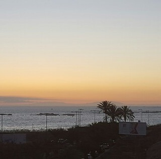Sunset from my terrace in Tenerife with the view of La Palma island, Canary Islands. #tenerife, #tenerifelife, #island, #islandlife, #canaryislands, #canarias, #sunset, #nature, #naturelovers, #naturephotography, #loveit, #tour, #privatetour, #privateguide, #excursion, #nature, #naturelovers