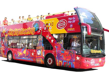 Bus sightseeing tours by coach in Tenerife