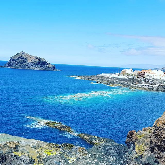 – on the private VIP tour with @tenerifehost – Garachico town, 1st capital of the island.